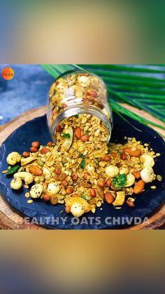 Healthy Indian Recipes, Spicy Recipes, Indian Snacks, Chef Recipes, Easy Snacks, Healthy Snacks, Snack Mix Recipes, Drink Recipes, Vegetarian Fast Food