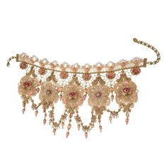Baroque Inspired Chocker Necklace 13096 - Michal Negrin