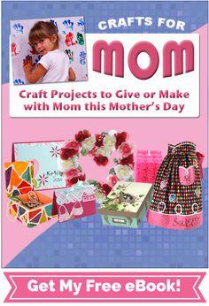 Manualidades para mamá: Proyectos 30 libre del arte para el Día de la Madre | FaveCrafts.com