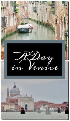 To say that Venice i