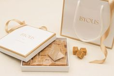 BYOUS luxury Scottish tablet gifts & favours