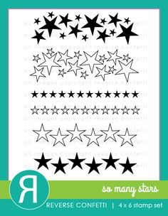 Star Light, Star Bright take this stamp set home with you tonight! So Many Stars is a great background building set featuring 6 different star stamps. Use it for added detail (wow factor!) or to create your own patterned paper on your paper crafting projects.