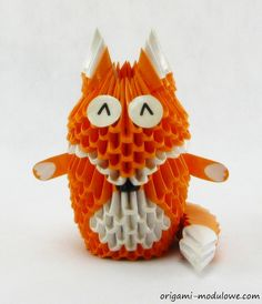 Intricate origami creatures by Piotr Sokolowski