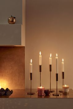 Ljusstake - Guld - Home All | H&M SE