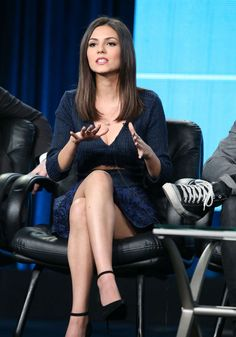 Victoria Justice: Eye Candy Panel TCA Press Tour 2015 -13