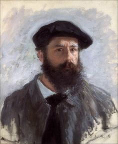 Claude Monet, Autoritratto con berretto, 1886