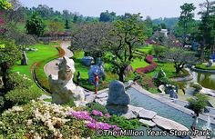 Attractions in Pattaya. Situated in the Pattaya countryside just a drive from the city, set amidst of land, the Million Year Stone Park and Crocodile Farm Castaway Resort, Culture Of Thailand, Thai Travel, Koh Tao, Pattaya, Thailand Travel, Countryside, Attraction, Dubai