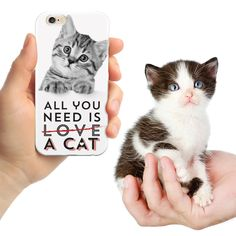 Do you love cats?  Then this may be the perfect cellphone case for you.  On sale now for only $15! #cats
