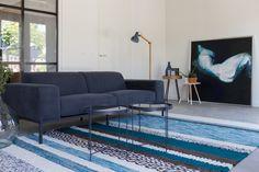 Norway carpet blue