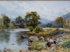 Bildergebnis für scotland village painting