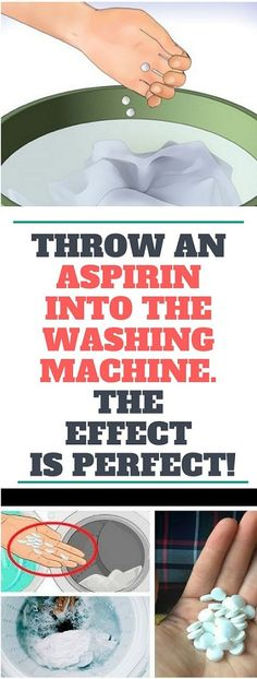 With the help of aspirin you will deal with this problem very fast without using chemical cleaners that are expensive and ineffective.