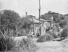 Happy Valley unemployed camp, La Perouse. C.1932. Courtesy State Library of New South Wales
