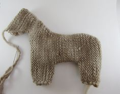 How to Stuff and Shape a Waldorf Inspired Knitted Toy Animal, a Tutorial