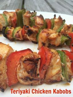 Teriyaki Chicken Kabob Marinade--Grilling Made Easy with GIANT