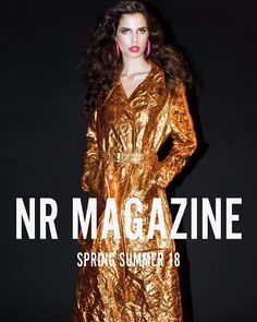 Cover 3 of @nrmagazine Freedom the SS18 issue ft. @hayettmccarthy wearing @siesmarjan.. . Photographed by @aaronohaaron  Fashion by @haleygirl1  Hair by @siobhanbenson_  Make-up by @amandawilsonmakeup . Available at boutiquemags.com