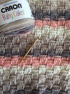 Caron Baby Cakes in Dreamy Peach using ...
