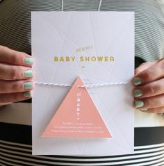Geometric Baby Shower from Little Frills