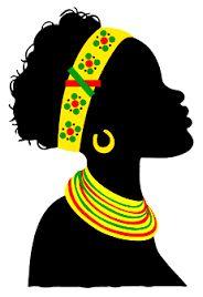 Teacher Tati Simões: Black Awareness 21 beautiful pictures the ma Black Woman Silhouette, Silhouette Art, Black Girl Art, Black Women Art, Afrique Art, African Art Paintings, Black Art Pictures, Afro Art, African Masks