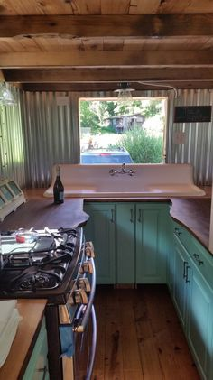 An owner-built, off-grid tiny house on wheels in Montana. More info. 2 dogs and 1 cat tiny house in Montana