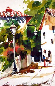 Pat Weaver Watercolor