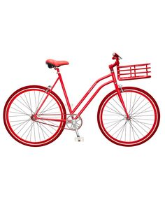 Red Steel Alloy Gramercy Bike | Martone Cycling Co | Avenue32