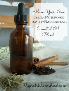 Make Your Own All-Purpose, Anti-Bacterial Oil Blend
