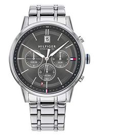 #montre #montredeluxe #luxe #TommyHilfiger #femme #woman #watch #montres #cuir Tommy Hilfiger Watches, Herren Style, Silver Man, Stainless Steel Case, Omega Watch, Bracelets, Smart Watch, Watches For Men, Quartz