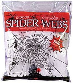 Fun World - Spider Web White Accessory
