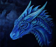 Looks like Saphira to me