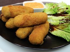 Sardinenkroketten Ethnic Recipes, Food, Snacks, Spanish Tapas, Essen, Meals, Yemek, Eten
