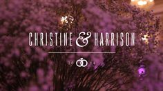 Fairmont Copley Plaza: Christine & Harrison