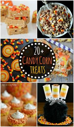 20+ Candy Corn Treat