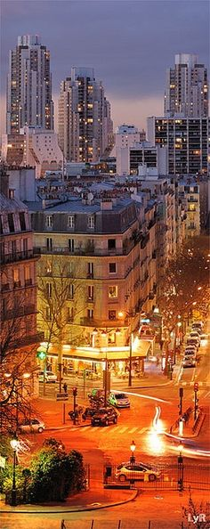 Paris by night by Lionel Ruhier