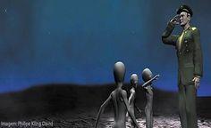 EXTRATERRESTRES - Militares e Políticos Assumem Contatos com Naves e Federação Alien!
