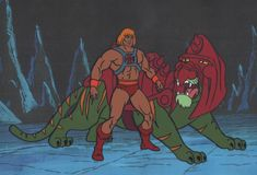 He-Man Masters of the Universe Production Animation Art Cel and Drawings by CharlesScottGallery on Etsy