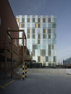 Avenue de France Administrative Building,© Régis Golay