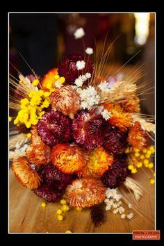 Boston Wedding Photography, Boston Event Photography, Autumn Wedding Boston, Autumn Wedding Inspiration, Autumn Wedding Bouquet, Dried Flower Bouquet, Fall Wedding Bouquet, Orange Red Bouquet, Fall Wedding Decor, Autumn Wedding Decor