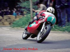 Angel Nieto - Derbi 250 cc - 1973 - Premio Internacional del Pilar