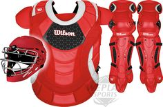 Wilson ProMOTION ™ Fastpitch Catchers Gear Set