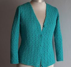 Relaksujący ogród i dom...: Sweter na szydełku prosty wzór diy Easy Stitch, Dom, Knitting, Crochet, Fashion, Moda, Tricot, Fashion Styles, Breien