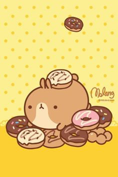 Oh. My. Gosh. Even BETTER!! A fat bunny named Molang.xx