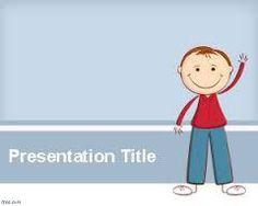 preschool flyers design   funny kids brochure template #07045, Presentation templates