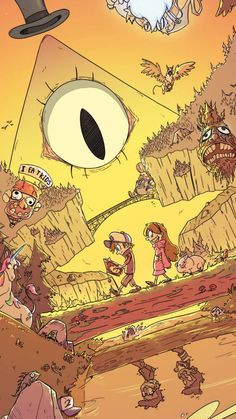 Sketch from Sony Libro Gravity Falls, Gravity Falls Journal, Gravity Falls Art, Steven Universe, Dipper E Mabel, Desenhos Gravity Falls, Gavity Falls, Wall Paper Phone, Reverse Falls