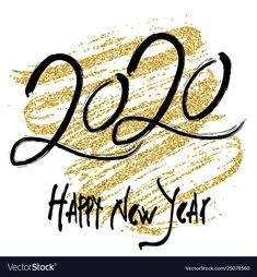 2020 design for new year Royalty Free Vector Image - Neujahr Happy New Year Pictures, Happy New Year Quotes, Happy New Year Wishes, Happy New Year Greetings, Happy New Year 2020, Happy New Year Design, Happy New Year Calligraphy, Free Vector Images, Vector Free