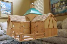 breyer horse barn plans   model horse barn ideas - Google Search