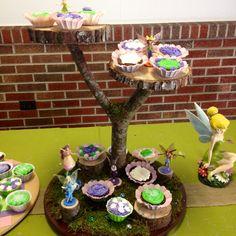 Cupcake stand. Fairy tree.