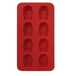 The Iron Man Face Ice Cube Tray is what you need to freeze the face of your favorite Marvel hero Iron Man. And then you can use that ice in your drink! Buy now.