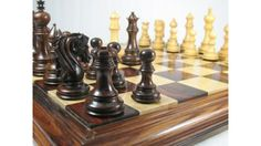 Triple Weighted Chess Set Rose Wood 4 Queens. http://www.chessbazaar.com/chess-pieces/luxury-chess-pieces/triple-weighted-chess-set-rose-wood-4-queens.html