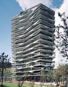 Garden-Tower Grüner Wohnturm Wabern - Buchner Bründler Architekten AG