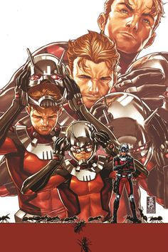 Ant Man •Mark Brooks